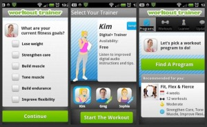 8. workout trainer